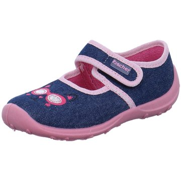 Fischer Schuhe HausschuhKatze blau