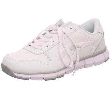 KangaROOS Sneaker Low weiß