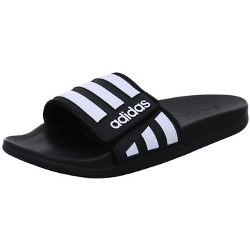 adidas Offene SchuheAdilette Comfort ADJ K schwarz