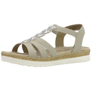 Supremo Komfort Sandale beige