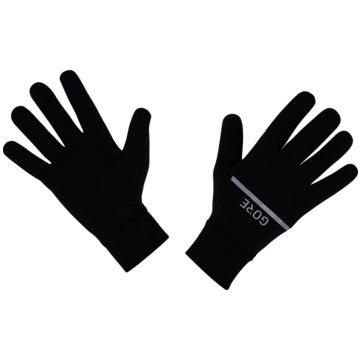 Gore Running Wear Fingerhandschuhe schwarz