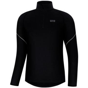 Gore-Tex Langarmshirt schwarz