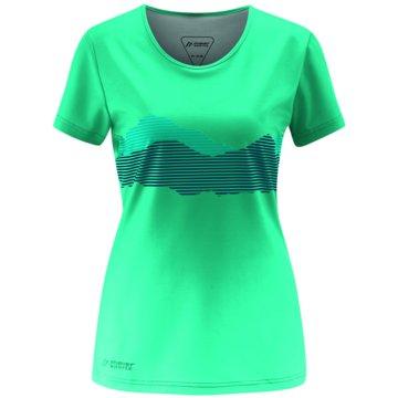 Maier Sports T-ShirtsDAMEN SHIRT 1/2 ARM LUDDIE - 252309 grün
