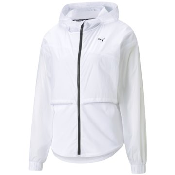 Puma FunktionsjackenTRAIN ULTRA HOODED JACKET - 520271 weiß