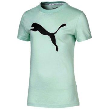 Puma T-ShirtsMODERN SPORTS LOGO TEE G - 581429 032 grün