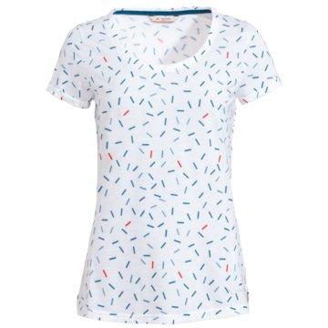 VAUDE T-ShirtsWomen's Skomer AOP T-Shirt weiß