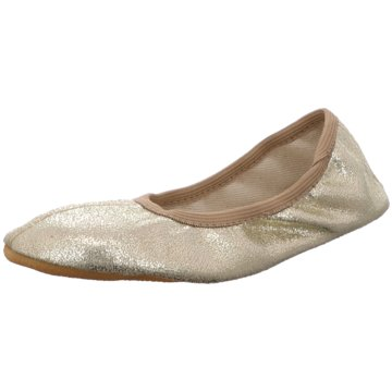 Beck Gymnastikschuh gold
