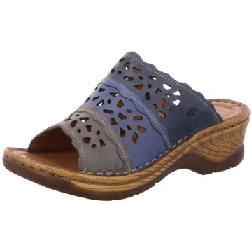 Josef Seibel Komfort Pantolette blau