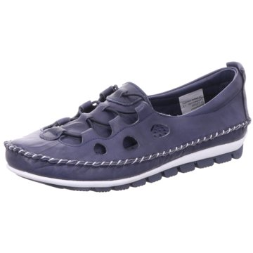 Gemini Komfort Slipper blau