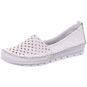 Gemini Komfort Slipper weiß