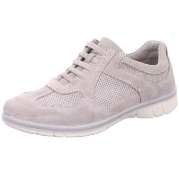 2 Steps Casual Sportlicher Schnürschuh grau