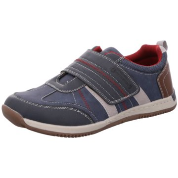 Stallion Sportlicher Slipper blau