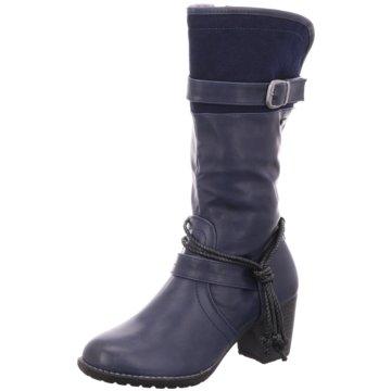 Antonio Dolfi Klassischer Stiefel blau