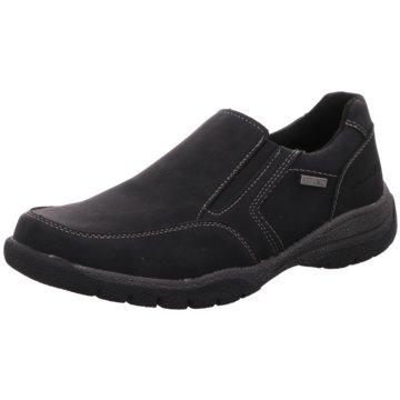 BM Footwear Komfort Slipper schwarz