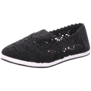 Shoeplanet Klassischer Slipper schwarz