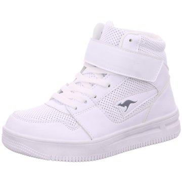KangaROOS Sneaker High weiß