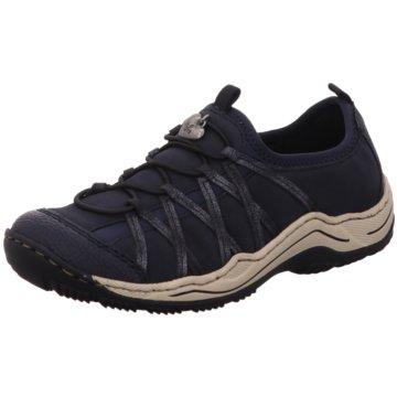 Rieker Outdoor Schuh blau