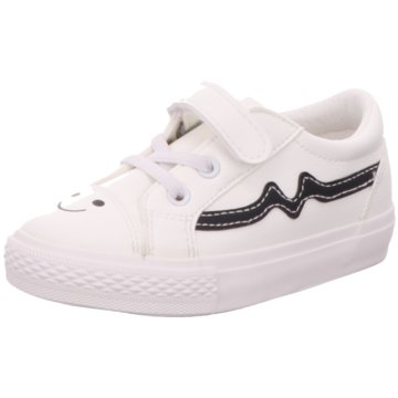 Slobby Sneaker Low weiß