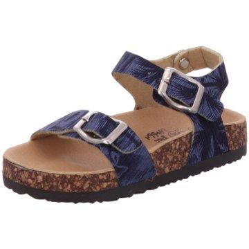 Happy Bee Offene Schuhe blau