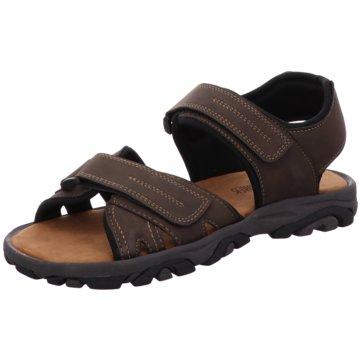 Tempora Komfort Sandale braun