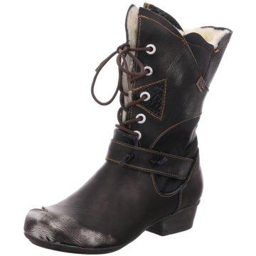TMA Komfort Stiefel schwarz