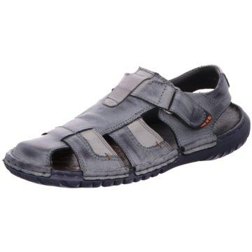 KRISBUT Sandale grau
