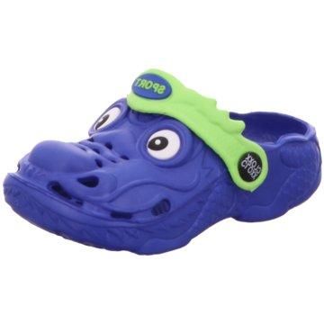 Galop Offene Schuhe blau