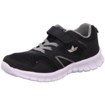 Lico Sportlicher Schnürschuh schwarz