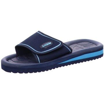 Moza-X Badelatsche blau