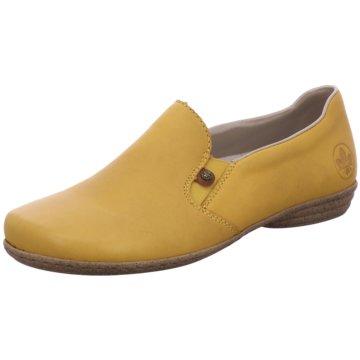 Rieker Komfort Slipper gelb