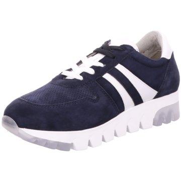 Tamaris Komfort SchnürschuhSneaker blau