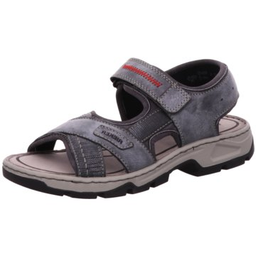 Rieker Komfort Schuh blau