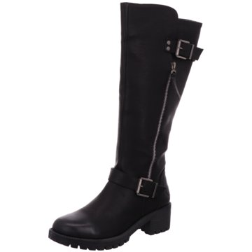 Idana Klassischer Stiefel schwarz