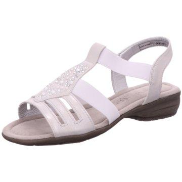 Idana Komfort Sandale weiß