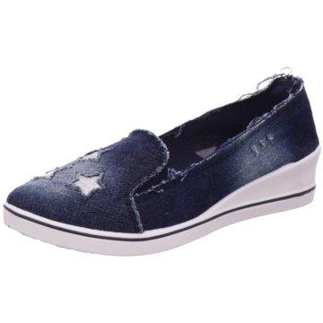 Scandi Slipper blau