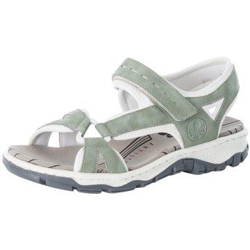 Rieker Komfort SandaleSandale grün