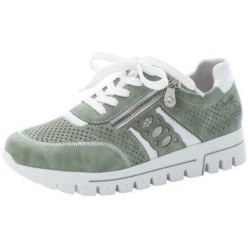 Rieker Plateau SchnürschuheSneaker grün