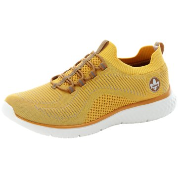 Rieker Sneaker Low gelb