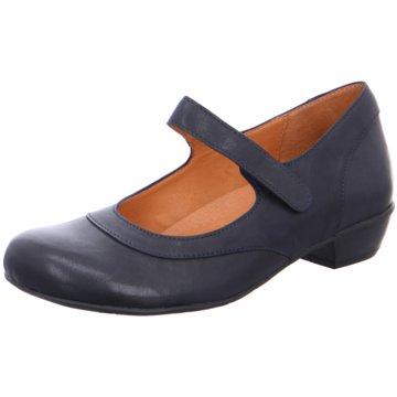 Brako Komfort Slipper blau