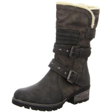 Soft Line Komfort Stiefel grau