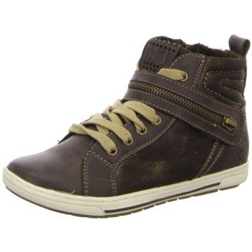 Marco Tozzi Sneaker High braun