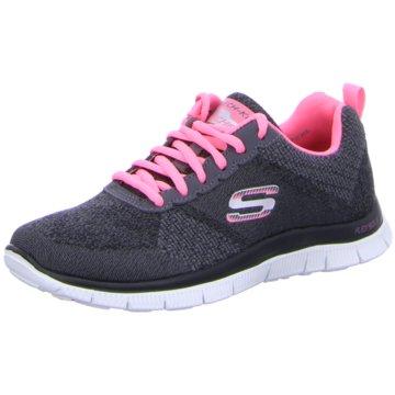 Skechers Sneaker LowFlex Appeal - Simply Sweet grau