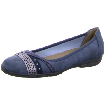 Idana Klassischer Ballerina blau