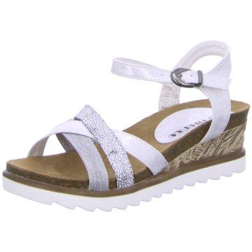 Hengst Footwear Keilsandalette weiß