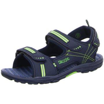 Kappa Offene Schuhe blau