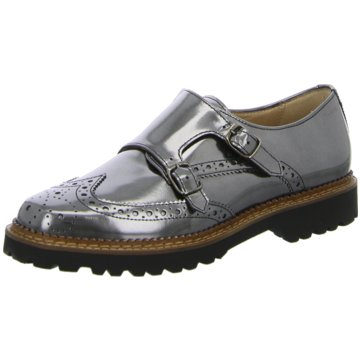 Sioux Business Slipper silber