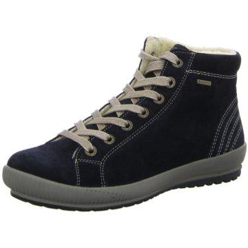 Legero Komfort Stiefelette blau