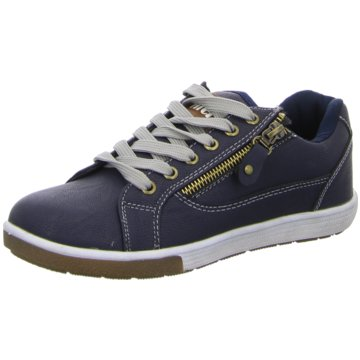 Hengst Footwear Sportlicher Schnürschuh blau
