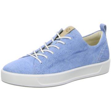 Ecco Sneaker LowECCO SOFT 8 LADIES blau