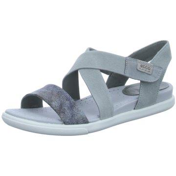 Ecco Komfort Sandale grau